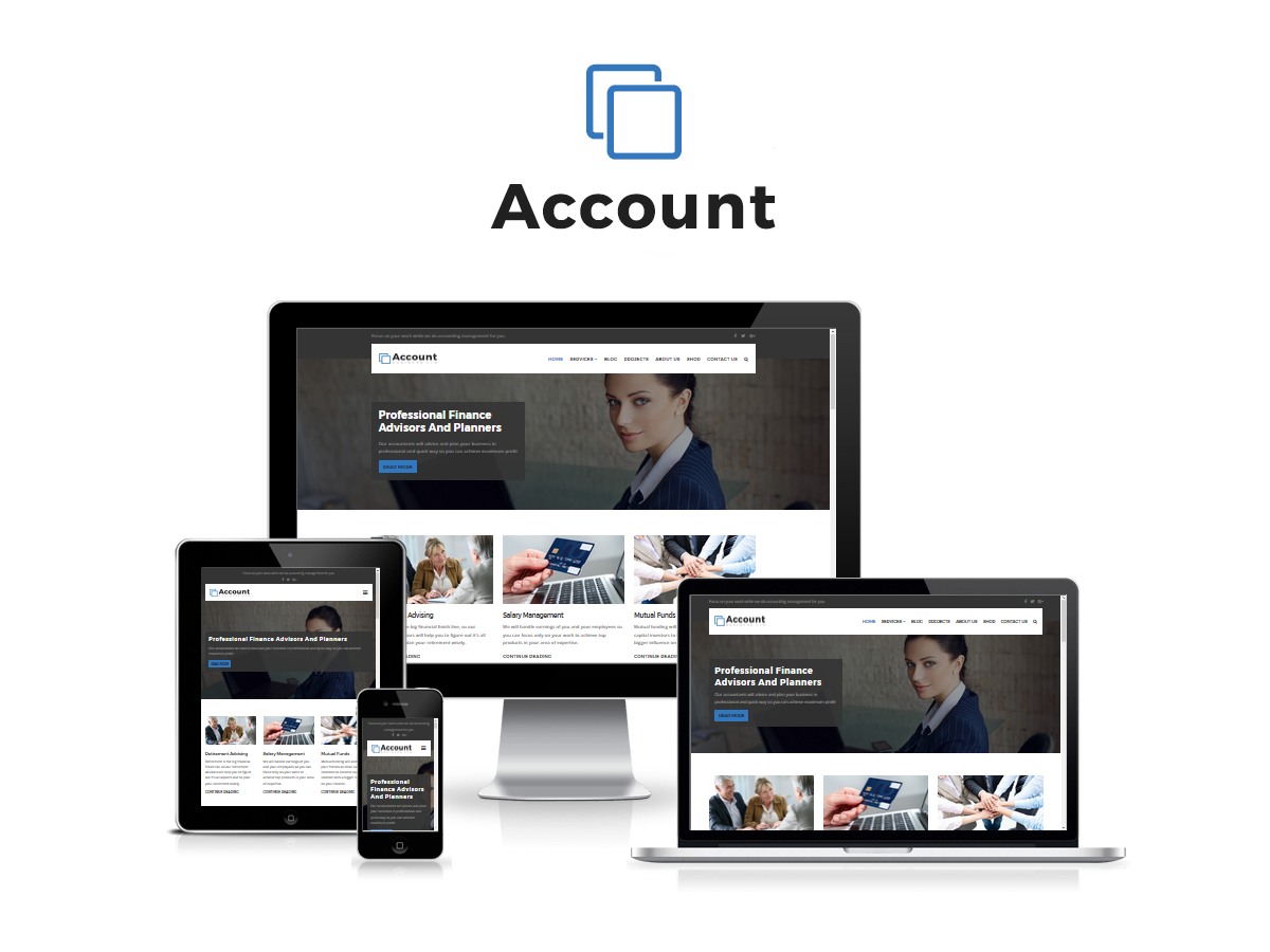 Account - Accountant And Finance Business WP Theme